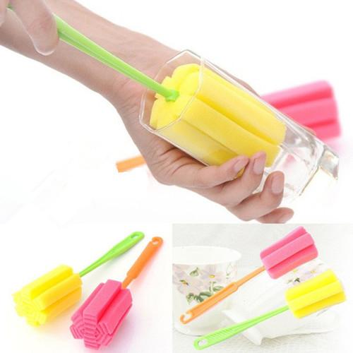 Sponge Brush For Bottle And Tea Glass 2 Pcs