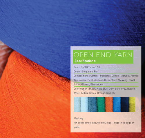 Open End Yarn And Mop Yarn