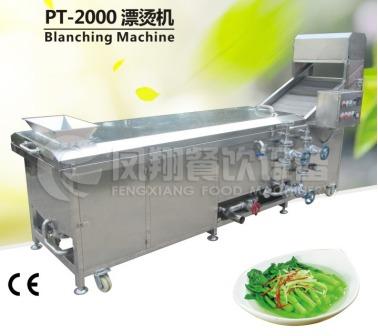 Pt-2000 Vegetable Hot Water Blanching Machine