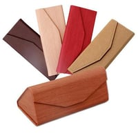 Hand-crafted Folding Eyeglasses Case