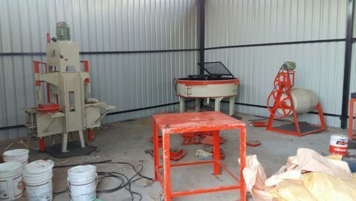 Hydraulic Press Type Concrete Paver Block Machine