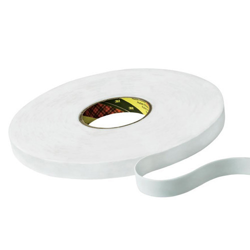 Double Sided White Foam Tape