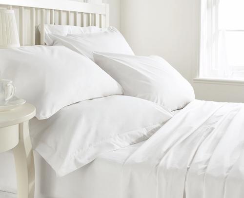 Plain White Bedsheet