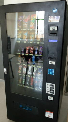 Normal And Cold Vending Machine