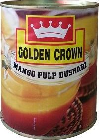 Sweetened Dusheri Canned Mango Pulp
