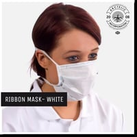 Disposable Mask Tie Ribbon