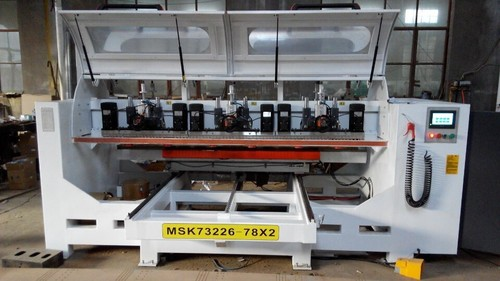 Multi Spindle Drilling Machine for Acoustic Panel in   Licang District