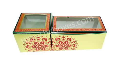 Folding Ladoo Packaging Box