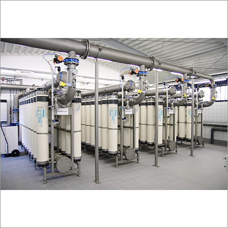Industrial Ultrafiltration Water Treatment Plant