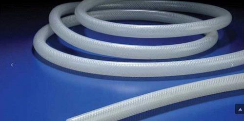 Platinum Cured Silicone Transparent Braided Hose