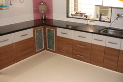 Different Colors Modular Kitchen