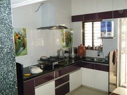 Modular Kitchen In Acrylic