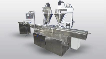 Automatic 2 Head Powder Filling Machine Jet-Pf60-2