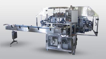 Automatic 4 Head Foil Sealing Machine (Jet-Foil-04)