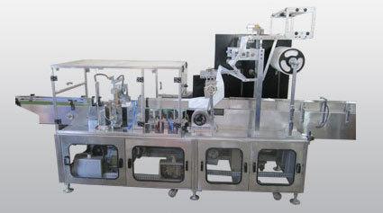Heavy Duty Auto Horizontal Flow Wrap Machine Centre Seal Type