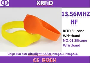 RFID Wristband with F08 Chip