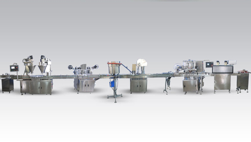 Powder Filling Machine Line
