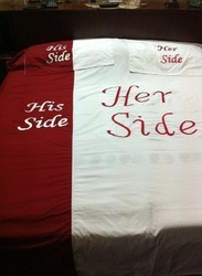 Wedding And Anniversary Special Bedsheet