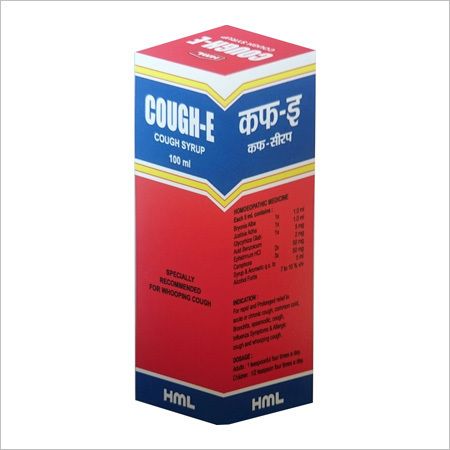 Homeopathic Cough Syrup