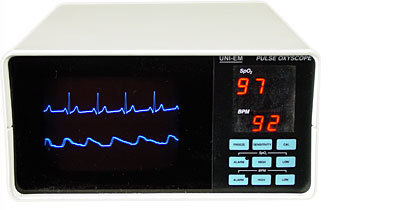 Pulse Oxyscope (Pulse Oxymeter With Ecg)