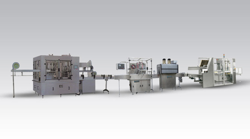 Rotary Oil Filling Line