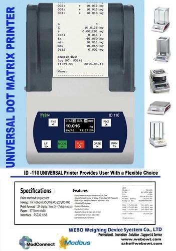 Universal Dot Matrix Printer