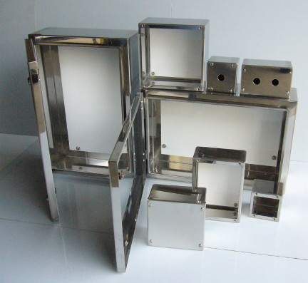 Fabricated Stainless Steel Panel Boards