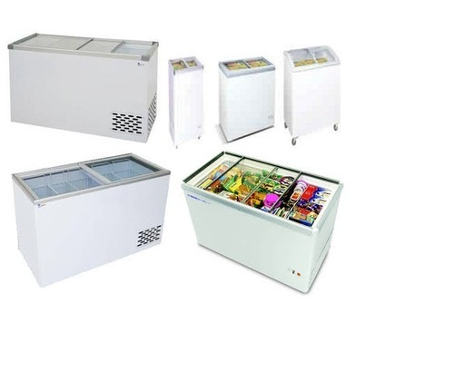 Horizontal Glass Door Freezer in  Mangadu