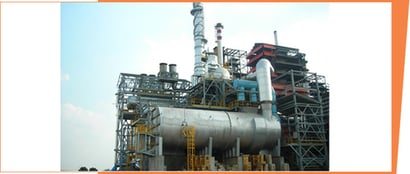 Waste to Energy Boilers for Carbon Black Refinery or Petrochemical Plants