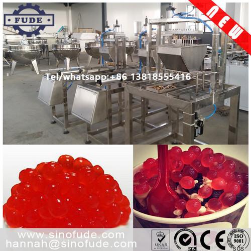 Automatic Juice Filled Jelly Ball Macking Machine