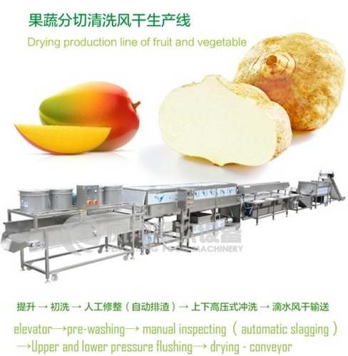 Automatic Fruit And Vegetable Drying Production Line
