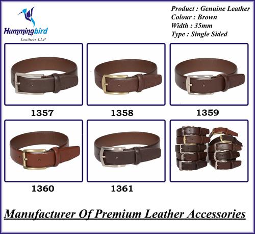 Genuine Leather Brown Belt