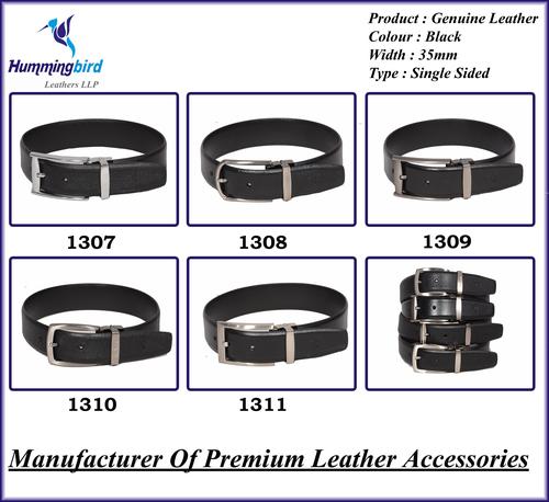 Genuine Leather Single Sided Belt
