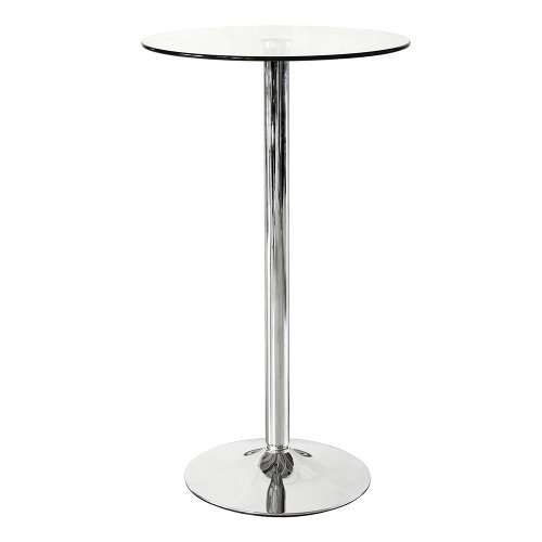 Glass Bar Stool in  10-Sector