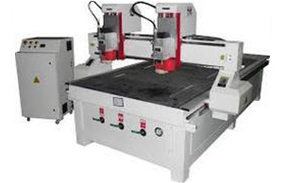 Double Head CNC Router Machine with Vacuum Bed