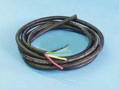 3 Colour Power Cords