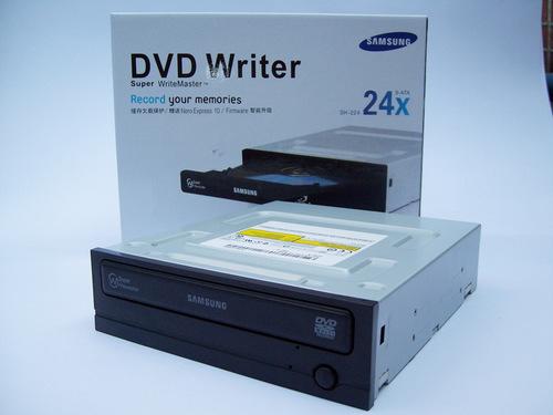 DVD Writer 24X SATA For Desktop Computer