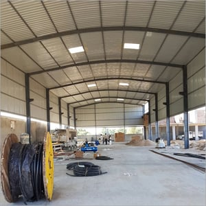 Industrial Fabricated Shade