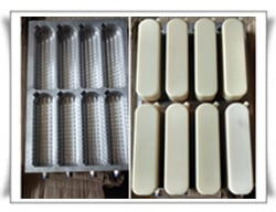 Thermoforming Mould With Nylon Punch and Cooling Plate