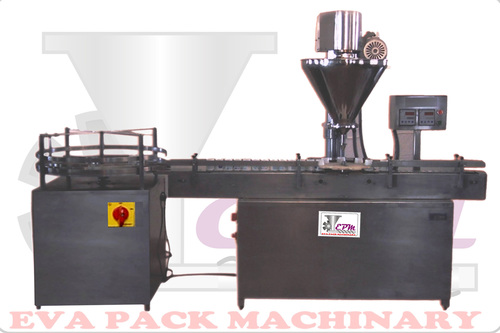 Dry Syrup Filling Machine.
