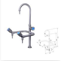 Laboratory Triple Outlet Faucet