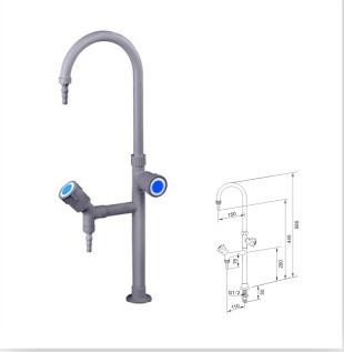Reliable Laboratory Double Outlet Faucet