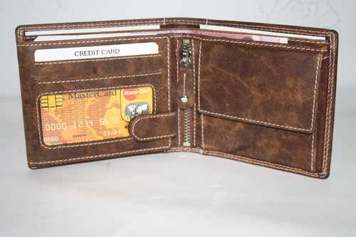 Genuine Trifold Leather Wallet