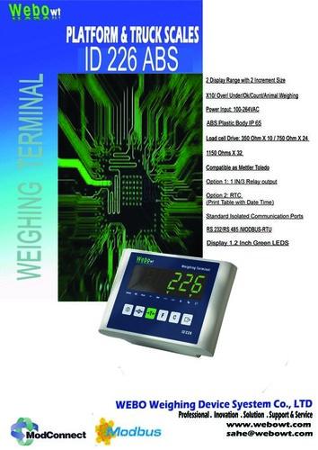 Mettler Toledo Compatible Weighing Indicator