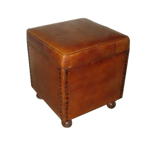 Leather Ottoman In Jodhpur, Leather Ottoman Dealers