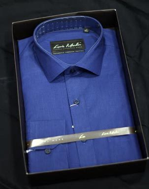 Mens Plain Formal Cotton Shirts