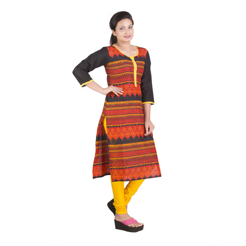 Multiprint Cambric Cotton Kurtis