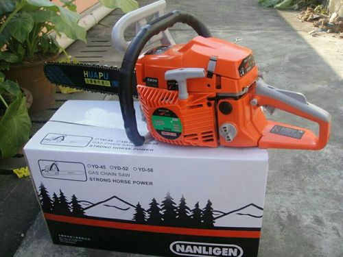 Gasoline Chainsaw 5800
