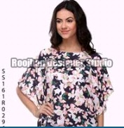 Girls Printed Formal Tops
