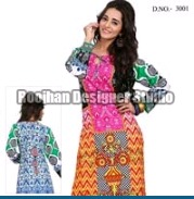 Ladies Printed Cotton Kurtis